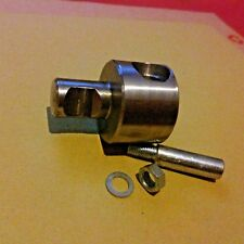 VINCENT FIREFLY PEDAL CRANK ADAPTER SPACER S/STEEL MOSQUITO AUTOCYCLE CYCLEMOTOR