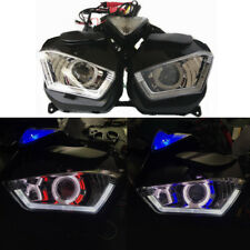 Motorcycle Headlight HID lamp LED Frontlight For Yamaha YZF-R25 YZF-R3 RED BLUE