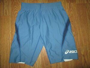 Womens ASICS athletic spandex shorts sz S SM  gym running