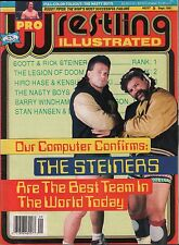 Pro Wrestling Illustrated September 1991 The Steiners, Roddy Piper VG 020316DBE