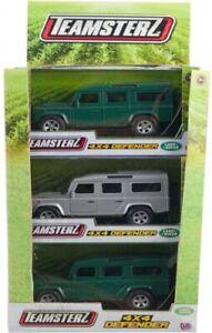 Official Teamsterz Land Rover 4x4 Defender Die-Cast Metal All-Terrain Vehicle