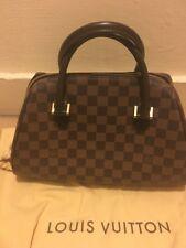 LOUIS VUITTON LV Ribera MM Handbag Boston Bag Damier Canvas CA 1005