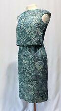 Vintage 60s Dress Silk 2 Piece shirt Top