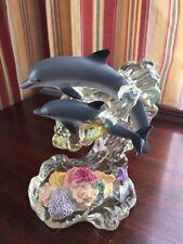 Lenox Ocean Acrobats Dolphin Figurine