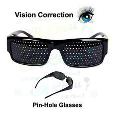 Vision Correction Eyesight Improve Care Exercise Eyewear PinHole / Frame Glasses