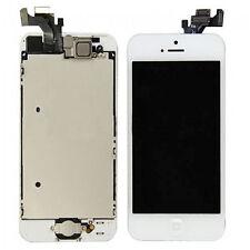 Repuesto de conjunto Digitalizador LCD/para Apple iPhone 5 Blanco (montaje completo)