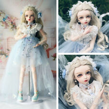 "24"" 1/3 BJD Doll Girl Gift Doll + Face Makeup + Wigs + Clothes + Eyes Full Set"