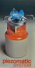 Fornello da campeggio a gas BPT BFG1 fornellino portatile accensione ELETTRICA