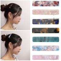 Hair Accessories Women Barrettes Girls Hairgrips  Acrylic Hair Clips Hairpin