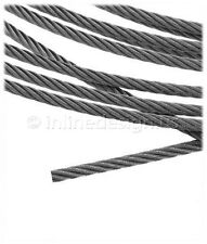 984ft- Stainless Steel Cable Wire Rope 1x19 Configuration