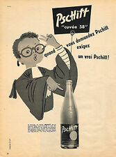 PUBLICITE ADVERTISING  1958   PSCHITT  soda