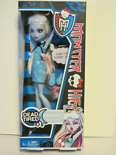 Monster High Dead Tired Abbey Bominable New Release and hard to find  New in Box