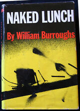 NAKED LUNCH - William Burroughs - Grove Press - 1st