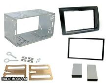 Fiat Bravo 07 on Black Double Din Car Stereo Fitting Kit Facia CT23FT05