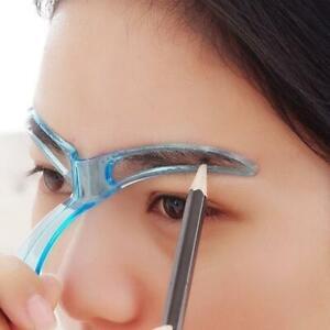 Eyebrow Grooming  Stencil Stylish Beautiful Shaping Template Card 2021