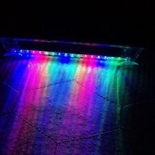 RGB Solar Wireless Warning LED Lamp Bar Car Strobe Flash Emergency Alarm Light