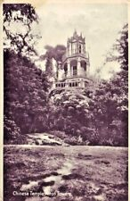 ALTON TOWERS, CHINESE TEMPLE. 1930s Real Photographic Postcard.