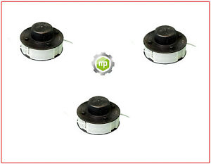 3x Fadenspule Spule passend für   CRAMER  40T05  40T07    Rasentrimmer Trimmer