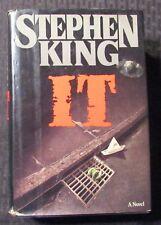 1986 IT by Stephen King HC/DJ FN-/VG+ 4th Viking Novel Printing
