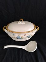 MIKASA GARDEN CLUB DAY DREAMS EC 461 2.5 QT. OVAL COVERED CASSEROLE DISH