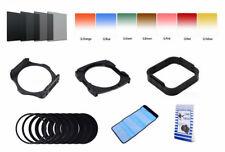 25 piezas de full filtros de color set ND Square cokin p soporte de filtro filtro gris