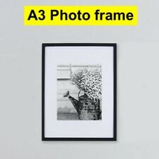 Frame A3 BLACK Photo Picture Poster Frames with styrene sheet glass