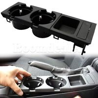 Center Console Coin Key Tray Box + Cup Holder Storage For BMW E46 3 Series 99-06