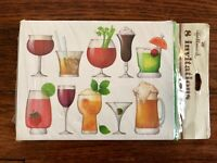 Vintage Hallmark Cocktail Party Invitations,New in Package,Set of 8,Mid-Century