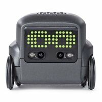 Boxer  Interactive AI Robot Toy Black with Personality and Emotions, for Ages