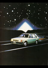 "1981 BD MAZDA 323 HATCHBACK AD A2 CANVAS PRINT POSTER 23.4""x16.5"""