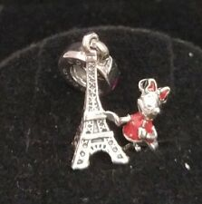 Pandora DISNEY Charm Pendant 75010571551P Minnie Mouse Eiffel Tower S925 ALE
