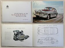 Werbebroschüre Pospekt Daimler Majestic Major V8 Limousine Auto Oldtimer um 1965