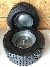 16x6.50-8 16/6.50-8 Turf Tire Riding Mower Tractor Rim Wheel Assembly 2 PACK NEW