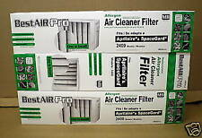 SG4-3 3 PK Air Filter Media for Aprilaire SpaceGard Air Cleaner 401 2400 MERV 11
