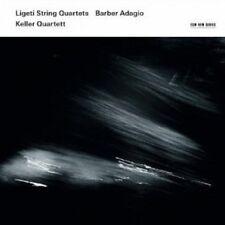KELLER QUARTETT - LIGETI STRING QUARTETS/BARBER ADAGIO  CD NEU