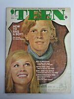 Vtg TEEN Magazine December 1969 Barbara Levene & Gavin O'Herlihy Cover 216
