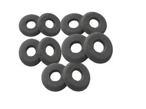 Plantronics 40709-02 SupraPlus Ear Headset Cushions H251 H261 HW261N QTY 10