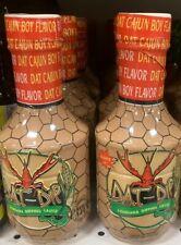 Louisiana Wing Sauce, Dat Dip Cajun Boy Flavor Dipping Sauce 16 oz 2 Bottles