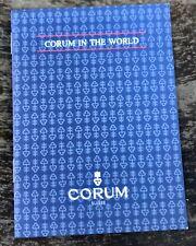 CORUM International Service Center Booklet 97 Admiral's Cup Bridge Power Reserve