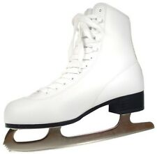 American Athletic Shoe Women's Tricot Lined Ice Skates White 8