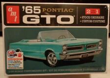 1/25 Scale AMT, 1965 Pontiac GTO 2in 1 Kit. (NEW ISSUE).