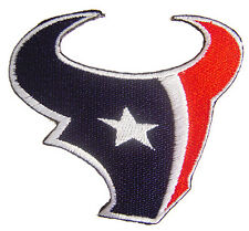 New NFL Houston Texans Logo embroidered iron or sew on patch. (i164)