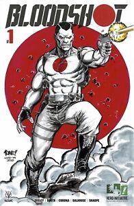 HERO INITIATIVE BLOODSHOT 50 PROJECT Original cover: TONE RODRIGUEZ CGC 9.6