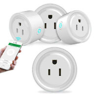 KQ_ FT- WiFi Smart Outlet Remote Control Timer Switch Energy Saving Power Socket