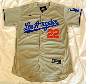 30% off Clayton Kershaw Los Angeles Dodgers #22 Adult Men M L XL Gray Jersey