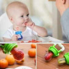 3Pack Baby Fruit Feeder Pacifier-Fresh Food-Silicone Nipple. SM-MED-LRG