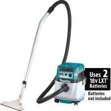 Makita XCV14Z 18V X2 36V LXT Lithium-Ion Cordless Wet/Dry Vacuum - Bare Tool