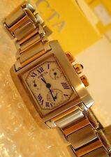 Super Rare Mint INVICTA 9222 Rectangular Chronograph Quartz Watch with Box