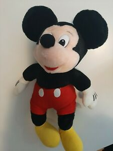 """Mickey Mouse Plush - Clubhouse - Authentic Disney Plush - 46cm/18"""" . Pre-owned"""