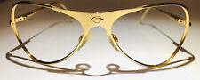 Gargoyles Vintage Gold Frame Sunglasses Classic Aviator RARE NOS